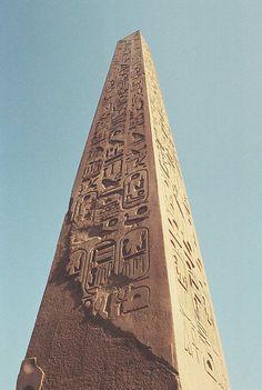 Egypt. Egyptian obelisk // La musique graphique