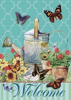 Shawn D Jenkins. Decoupage Vintage, Vintage Paper Crafts, Papel Vintage, Decoupage Paper, Butterfly House, Butterfly Art, Butterflies, Stencil, Magnetic Mailbox Covers