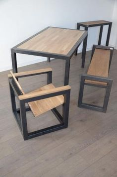 Coup d'œil sur les meubles Hewel mobilier en bois et métal. Mélange de style… by frankie