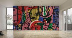 "Wallpaper ""The Harp"" • WOO Design"