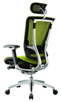 Günstige Bürostühle und Bürosessel – Vor- und Nachteile - Bürostühle und Bürosessel schwarz leuchtend grün kopflehne