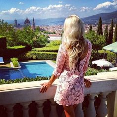 someday this will be the view from my villa #Tuscany #Florence