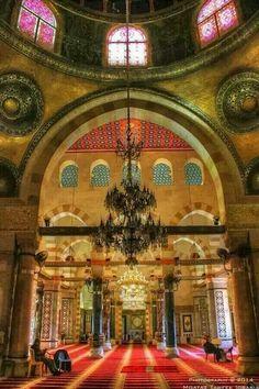 Inside alaqsa mosque ❤