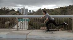 Skate boarding very usual sport in LA