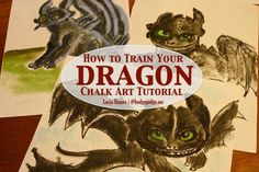 How to Train Your Dragon Art Tutorial at Hodgepodge