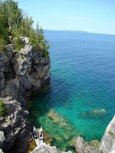Tobermory Ontario, Canada so gorgeous!
