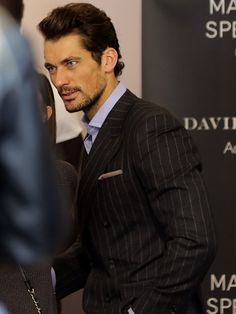 David Gandy Poses With Fans As He Promotes His Underwear Line In Paris - sept 25, 2014