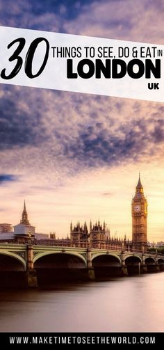 Wondering What to do in London on a weekend break? Our London Travel Guide has the Top Things to do in London + Where to Stay & What to Eat! Travel in Europe. Best Cities In Europe, Europe Travel Tips, Travel Advice, Backpacking Europe, Travel Destinations, Travel Abroad, Travel Guides, London Eye, Stonehenge