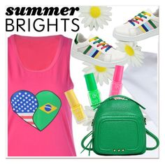 """""""Summer Brights"""" by paculi ❤ liked on Polyvore featuring summerbrights"""