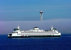 Seattle Icons by Chris Picard Seattle Ferry, Emerald City, Tile Ideas, Seattle Seahawks, Washington State, Pacific Northwest, Towers, Seattle Skyline, North West
