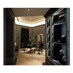 Harry Winston's Shanghai Boutique ❤ liked on Polyvore featuring room