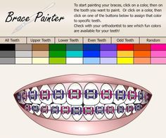 1000 Images About Brace Color Wheel On Pinterest Braces