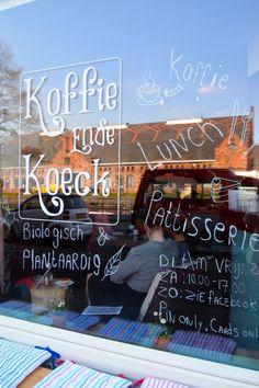 Koffie ende koeck suikervrije, glutenvrije en vegan taart sapjes enz. Haarlemmerweg nummer 175, Amsterdam.