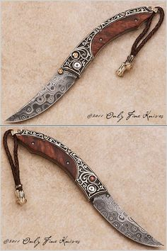 William Henry, B11 Persian, Silver Dawn #2 of 25, Only Fine Knives