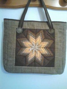 Ya lo he terminado,el bolso con telas japonesas,queda original.