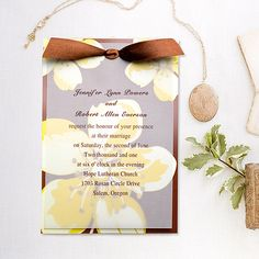 Cheap Rustic Summer Wedding Invitations as low as $1.29