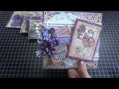 Nutcracker Sweet Card Giftcard holder - G45/Petaloo Blog Hop!