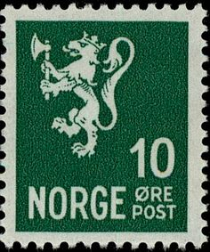 """Norway 1930 10ø """"Lion arms"""""""
