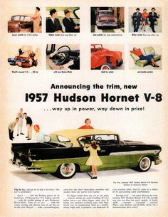 1957 Hudson Hornet V-8 Hardtop | Flickr - Photo Sharing!