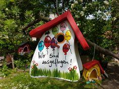 Weiteres - Kindergarten Abschied Vogelhaus hängend Erzieher - ein Designerstück von Die-Original-Vogelvilla bei DaWanda