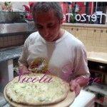 Creamy pizza