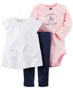 Carter's Baby Clothes at Macy's are available in baby, toddler and kids' sizes. Browse Carter's Baby Clothes at Macy's and find cute baby clothes for your little one today! Carters Baby Clothes, Carters Baby Girl, Cute Baby Clothes, My Baby Girl, Baby Girl Newborn, Babies Clothes, Baby Baby, Baby Outfits, Toddler Outfits