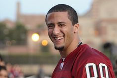 Colin Kaepernick - Tight End Tuesday...WHO IS ADPOTED BY THE WAY...