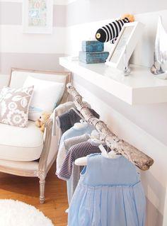 Driftwood baby wardrobe via Interior Addict