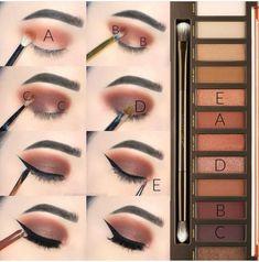 Gorgeous Makeup: Tips and Tricks With Eye Makeup and Eyeshadow – Makeup Design Ideas Contour Makeup, Eyeshadow Makeup, Makeup Brushes, Drugstore Makeup, Sephora Makeup, Golden Eyeshadow, Sephora Eyeshadow, Ikea Makeup, Bronzer Makeup