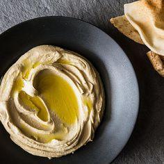 Yotam Ottolenghi & Sami Tamimi's Basic Hummus recipe on Food52 Basic Hummus Recipe, Homemade Hummus, Ottolenghi Recipes, Yotam Ottolenghi, Healthy Recipes, Vegetarian Recipes, Cooking Recipes, Vegan Vegetarian, Snacks To Make