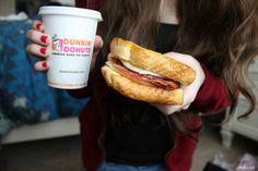 dunkin donuts. ♡