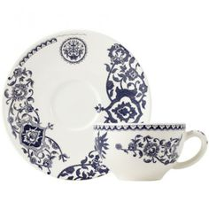 Heritage - 2 Tea cups & saucer - Héritage - Collections
