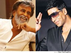 Superstar Rajinikanth wishes for Akshay - http://tamilwire.net/56796-superstar-rajinikanth-wishes-akshay.html