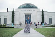 an american icon | printed maxi dress, vintage denim jacket & moto boots #ootd #stylemegrasie