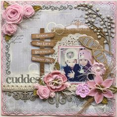 Bo Bunny: Warm and Cozy Layout Tutorial by Gabrielle Pollacco, Dec. 2012