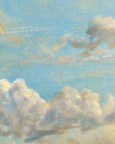 John Constable, Cloud Study (detail)