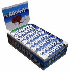 Bounty Milk Chocolate Bar [Case] 24x57g