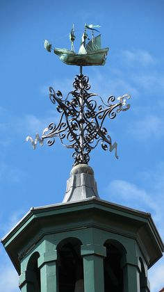 Weather Vane in Chartwell, the family home and garden of Sir Winston Churchill