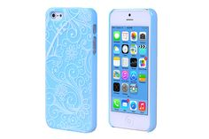 Flower Luminous Glowing Hard Plastic Protector Cases for iPhone 5s & iPhone 5 | Lagoo Tech