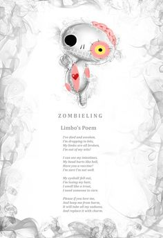Limbo Zombieling lost his two limbs when Medusa accidentally turned him to stone and they snapped off. He's on the mend now but could do with some extra love ❤️ www.myfrightlings.com