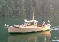 Redwing 26 - Pilothouse Power Cruiser - Boat Plans - Boat Designs
