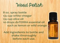 www.mydoterra.com/lavenderlemonpeppermint natural wood polish for your clean household