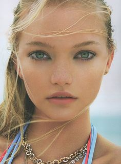 Gemma Ward in 'The Girl from Oz', by Corinne Day, July 2006