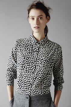 Chinti and Parker shirt. New take on a heart pattern.