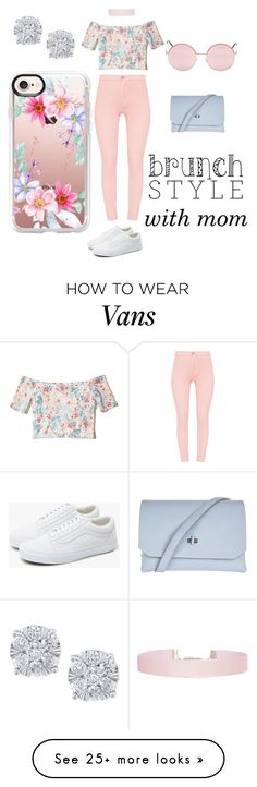 """Sunday Brunch Day!"" by jaypie-1 on Polyvore featuring Hollister Co., Humble Chic, Vans, Topshop, Effy Jewelry and Casetify"