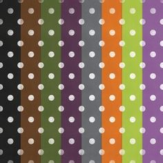 Free Printable Polka Dot Halloween Papers  — Digital Card Fun  « Digital Card Fun