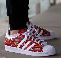 Adidas Superstar Nigo AOP