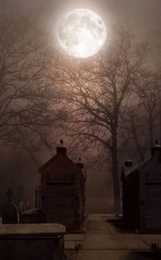 Graveyard Moon - by ??