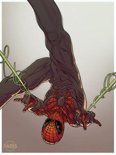 #Superior #Spiderman #Fan #Art. (DDF2014- Superior Spider-man) By: ParisAlleyne. (THE * 5 * STÅR * ÅWARD * OF: * AW YEAH, IT'S MAJOR ÅWESOMENESS!!!™)[THANK Ü 4 PINNING!!!<·><]<©>ÅÅÅ+(OB4E)