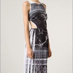 12/16 Hp Clover Canyon Brand New Pleated Dress